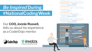 Be Inspired during #NationalCodingWeek - Our CTO, Jonnie Russell, shares his experience as a CoderDojo mentor