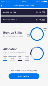 Investment game capital