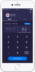 Invstr App Fraction Investing Dominos Pizza DriveWealth