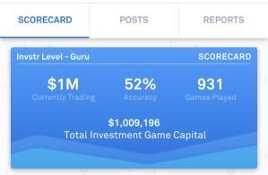 Invstr App Scorecard