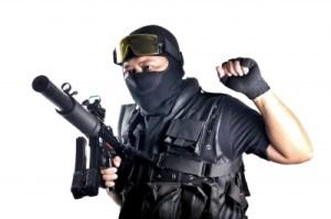 M-SWAT Officer.