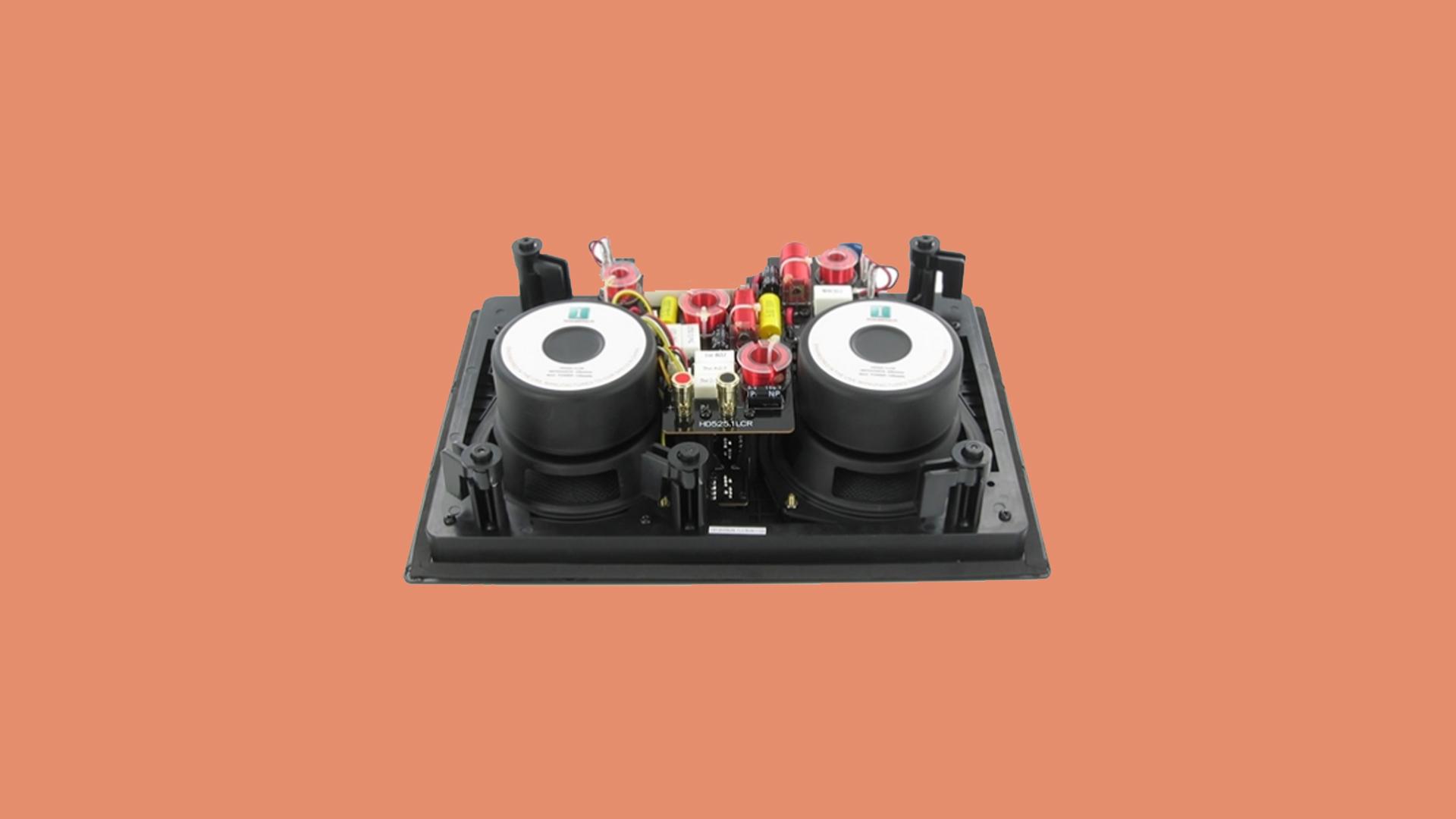 InwallTech Center Channel Speakers HD525 1LCR 3