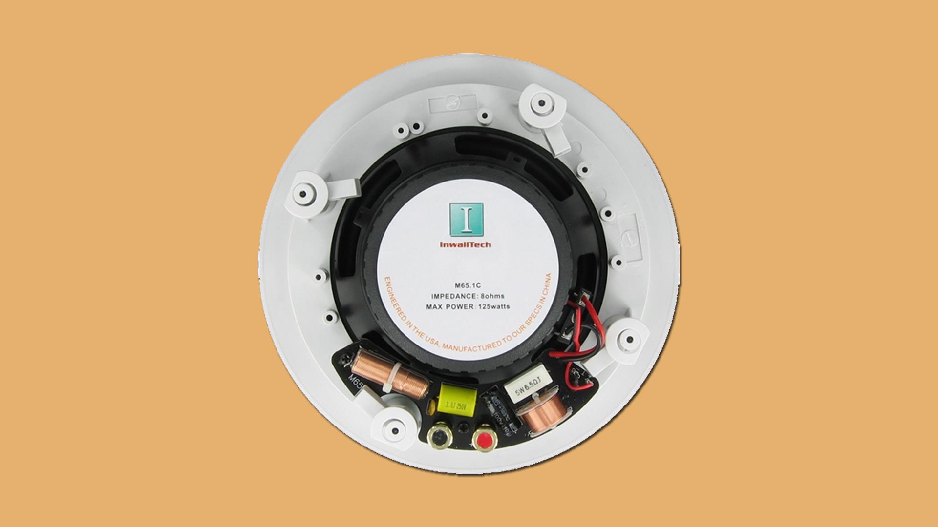 InwallTech In-ceiling Speakers M65 1C 3