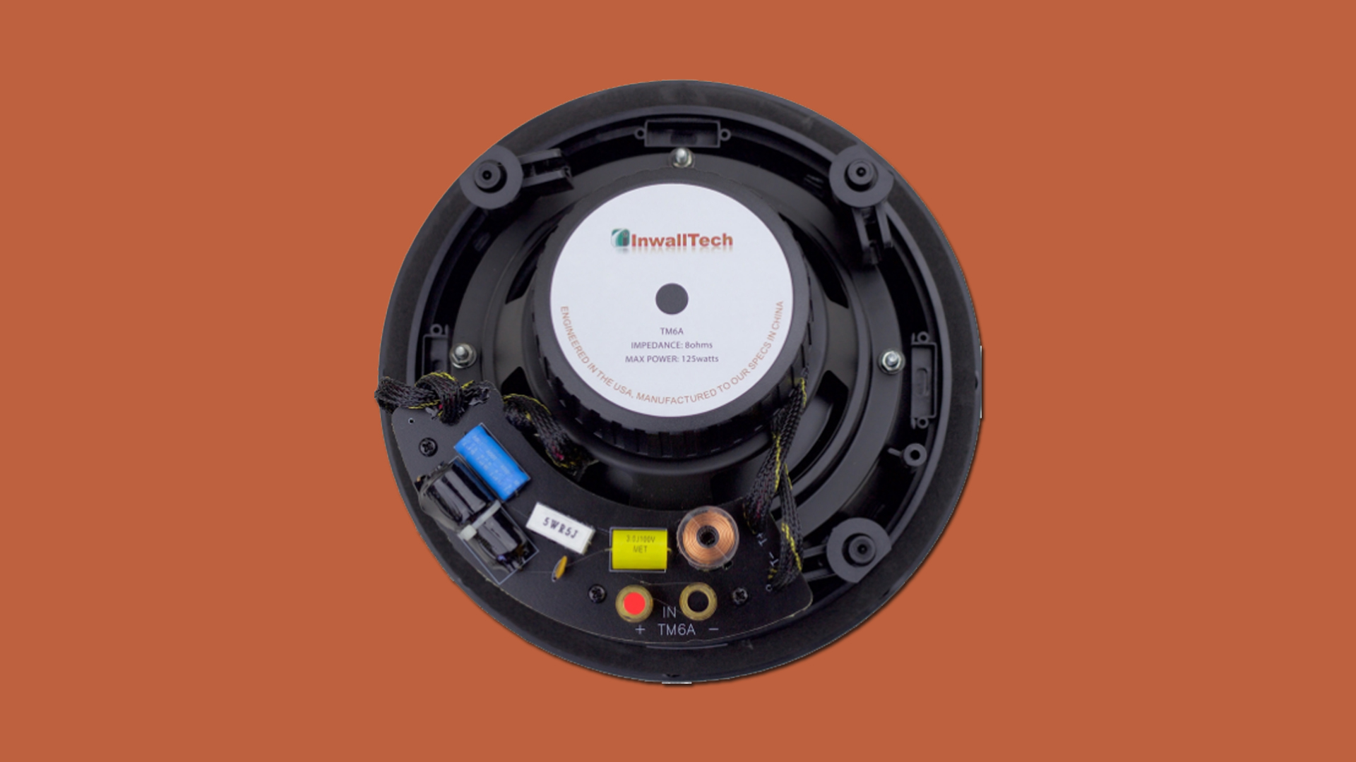 InwallTech In-ceiling Speakers TM6A 5