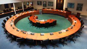 Raadsvergadering schandelijk