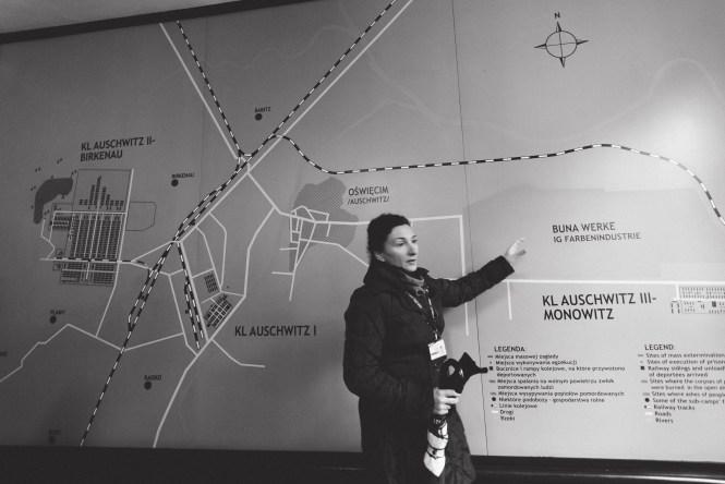 visitare un campo di concentramento