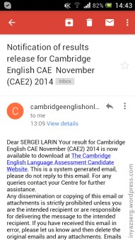 1) Cambridge makes you happy