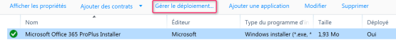 Manage Office 365 deployment