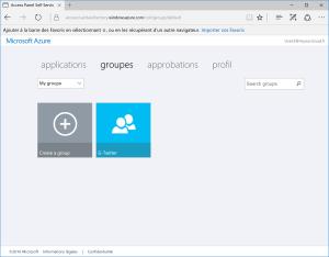 Groups Azure AD