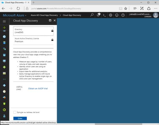 Configure Cloud APP Discovery