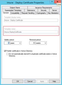 Properties of the certificates