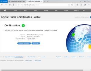 Renew IOS Certificate has been imported