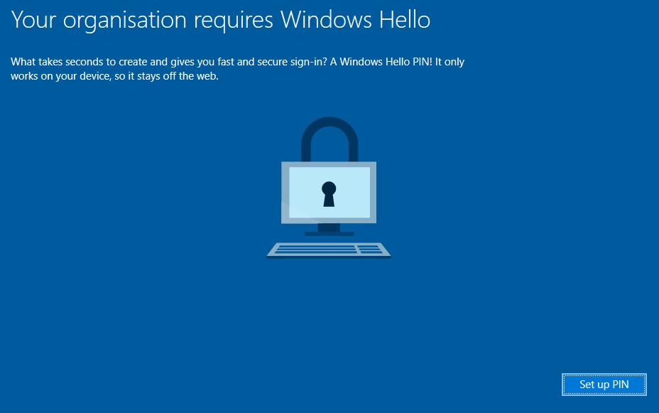 Configure Windows Hello