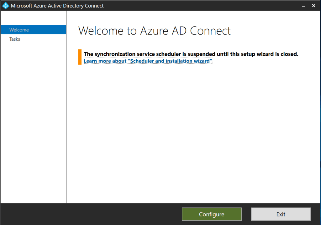 Autopilot and Hybrid AD Join - Configure Azure AD Connect