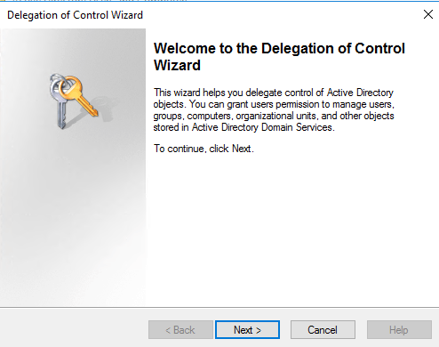 Autopilot and Hybrid AD Join - Wizard for delegate right on AD