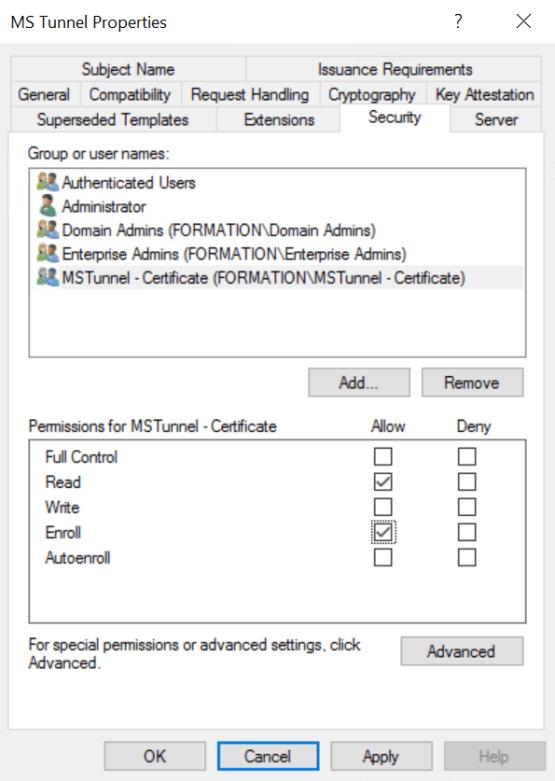 Configure Security