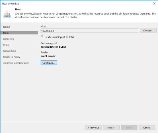 On-Demand Sandbox - Configure host