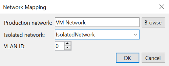 Select production and isolated network