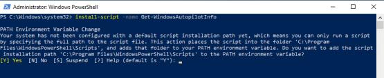 Install Autopilot script