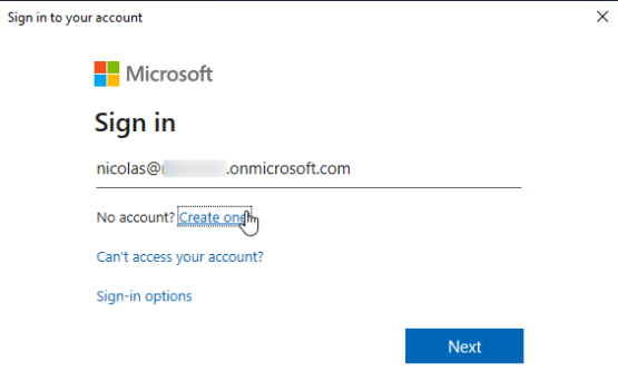 Enter credential of azure ad global admin