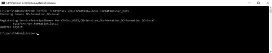 Set SPN on NDES Server