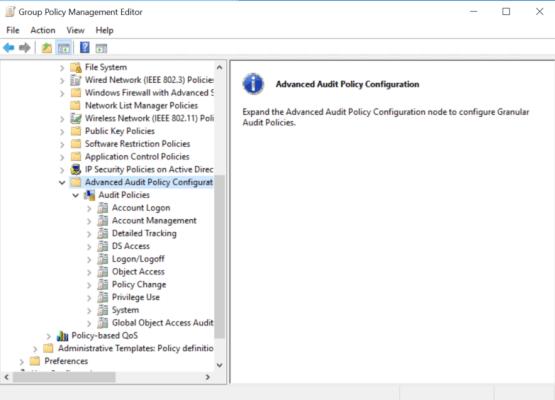 Configure Audit parameter