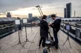 InZwischenZeit:Filme Dreh auf dem Skline Plaza