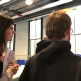 Regiesseurin Alicia-Eva Rost am Set, Ein Dreh mit Superzeitlupenaufnahmen von InZwischenZeit.Filme (Frankfurt am Main)