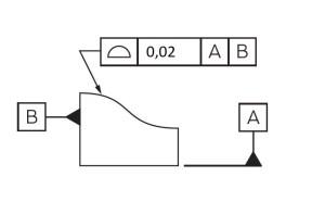 tolerancja profilu powierzchni