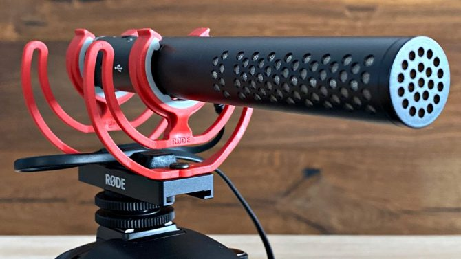 rode videomic ntg review mic sans pare-brise