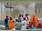 Sul lago sacro di Pushkar