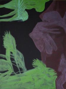 23 - Equilibrium - 2015 - 61 x 46 cm slash 24 x 18 inches - acrylic on canvas