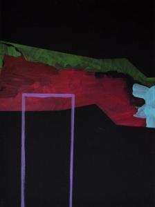 7 - Equilibrium - 2015 - 61 x 46 cm slash 24 x 18 inches - acrylic on canvas