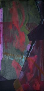 8 - Equilibrium - 2015 - 61 x 30 cm slash 24 x 12 inches - acrylic on canvas
