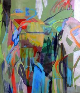 Fragments- Art Basel Miami 2015 group show - 2015 - 140 x 120 cm slash 55 x 47 inches - acrylic on canvas