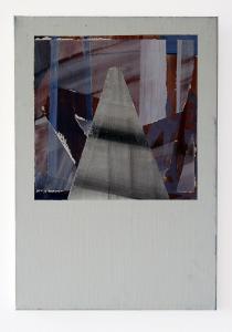 Screen Study_3 - 2017 - 58 x 40 cm slash 23 x 16 inches - acrylic on canvas