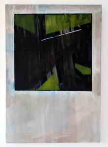 Screen Study_7 - 2017 - 58 x 40 cm slash 23 x 16 inches - acrylic on canvas