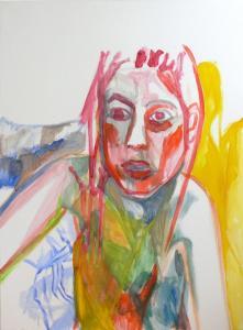 Self-portrait_1 - 2015 - acrylic on canvas