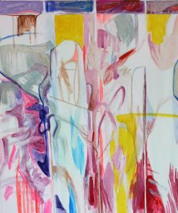 Sixth Window - 2015 - 70 x 60 cm slash 28 x 24 inches - acrylic on canvas