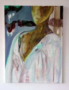 The Nightgown - 2015 - 80 x 60 cm slash 31 x 24 inches - acrylic on canvas (2)