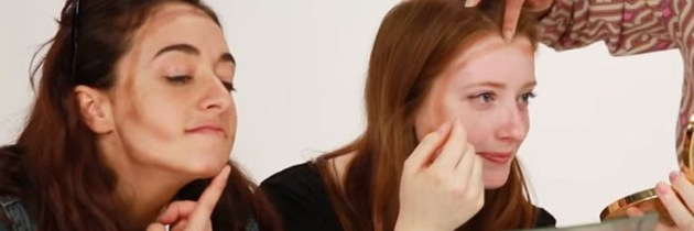 Primul machiaj al unei femei și efectele lui – Video