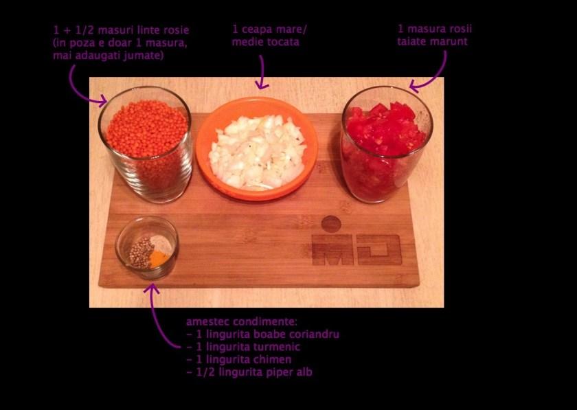 Ingredientele pentru primul pas