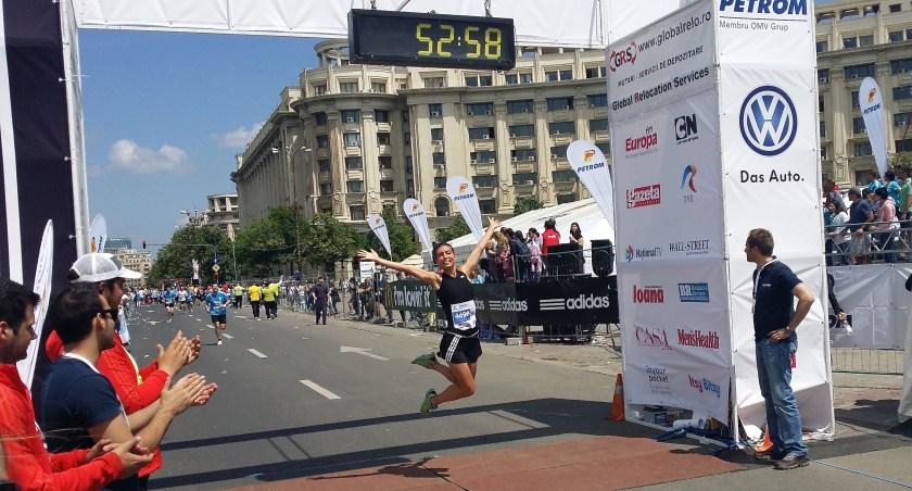 (c) Radu Dumitru Tzop si eu aici la finish line!