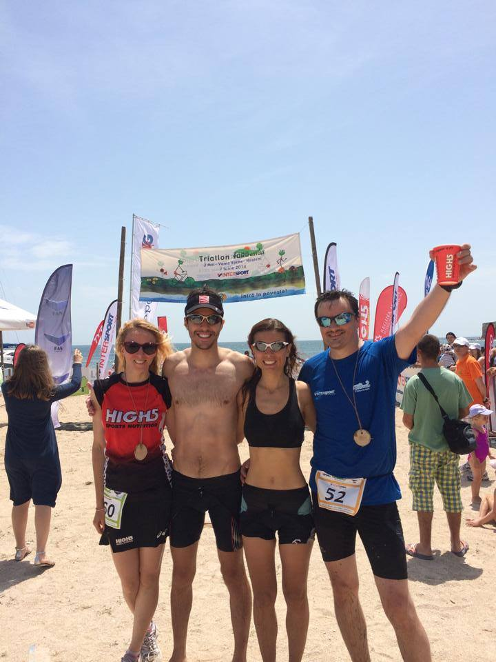 Cu echipa The Challenge, primul nostru triatlon impreuna. Urmeaza un Half si un Full Ironman ;-)