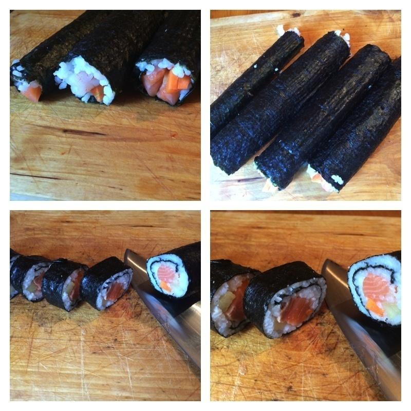 In sfarsit incepe sa arate a sushi! :D