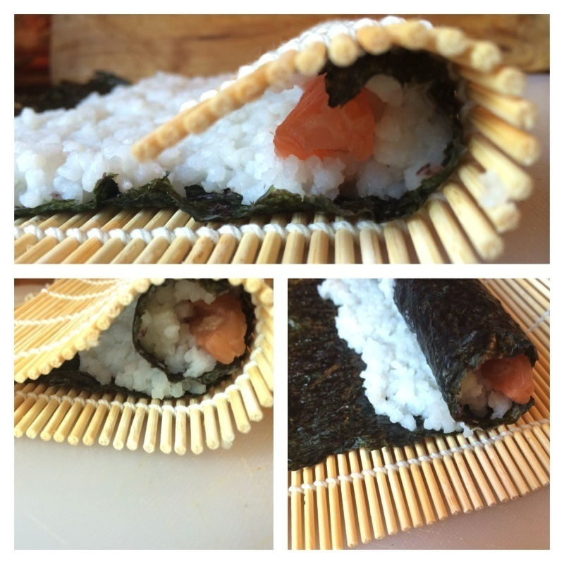 Roll baby, roll that sushi