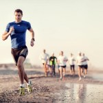 Beach run la Mamaia (and lots of fun)