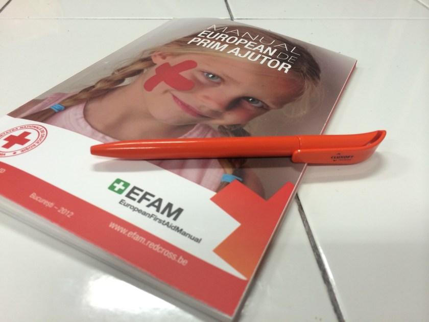Manualul European de Prim Ajutor este folosit in 28 de tari.