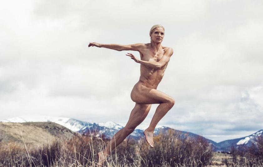 (c) Marcus Eriksson pentru ESPN Magazine Emma Coburn, detinatoarea recordului american la 3000m garduri
