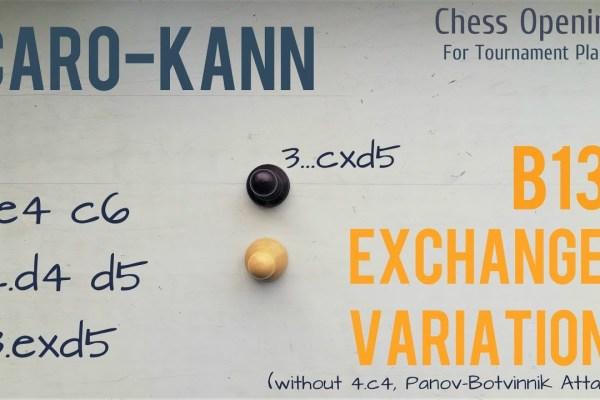caro kann exchange variation